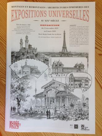Journal de l'exposition de Courbevoie