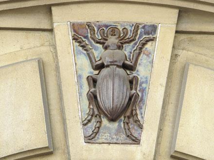 Carabe, 21 et 21 bis rue Leroux à Paris