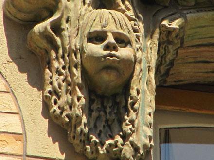 Souffle du vent, square Rapp à Paris