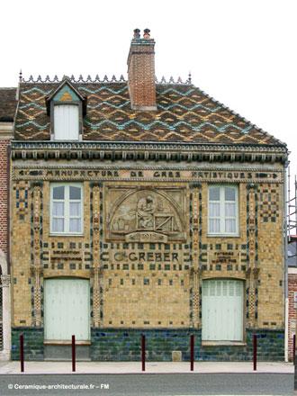 Maison Gréber 63 rue de Calais à Beauvais