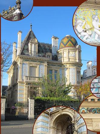 Des photos de décors, ici la maison Gilardoni à Thiais (94)