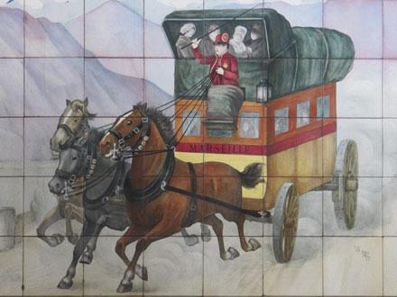 « La Vieille Poste », à la mairie de Paray Vieille Poste (91)