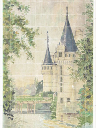 Château d'Azay-le-Rideau, A. Janin & Guérineau