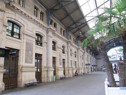 Hall de la gare de Tours