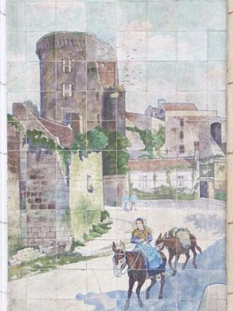 Donjon de Loches, A. Janin & Guérineau