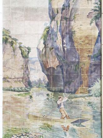 Gorges du Tarn, A. Janin & Guérineau