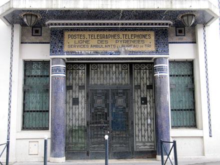 Ancien bureau de tri postal Saint Jean rue Domercq à Bordeaux (33), 1927 ou 1929