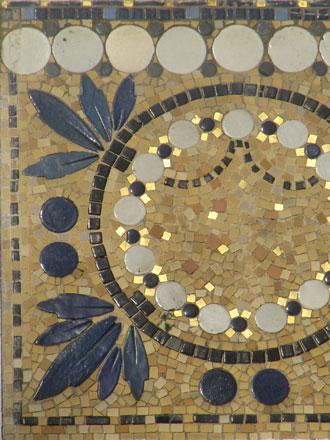 Matières, couleurs, formes et relief des mosaïques à Pavillons-sous-Bois (93)