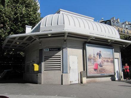 Commande publique, ligne 3b du métro Parisien, station Pelleport