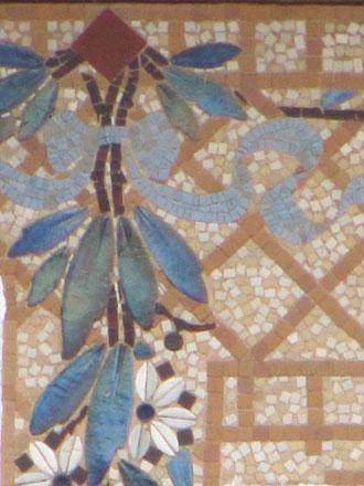 Croisillons en fond de décor, Le Raincy (93), vers 1911