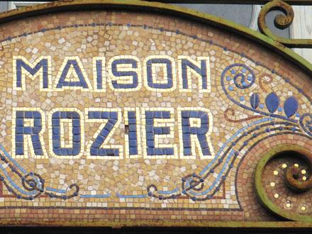 Maison Rozier, ancienne pâtisserie à La Bourboule (63), 1920