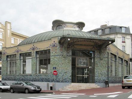 Pavillon du Verdurier à Limoges (87), à l'origine pavillon frigorifique, 1919