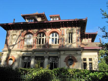 Villa « DUMAS », frises Hte Boulenger & Cie