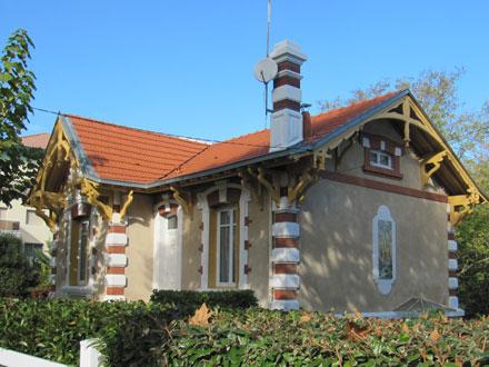 Panneau villa « ST SEVERIN », H.B & Cie Choisy-le-Roi