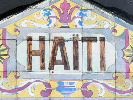 Cartouche d'Haïti