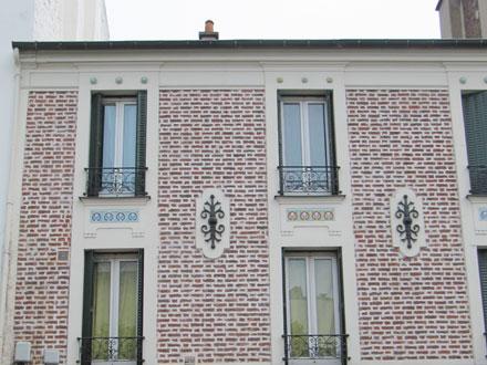 Frises de Brocard & Leclerc, manufacture de St Maurice
