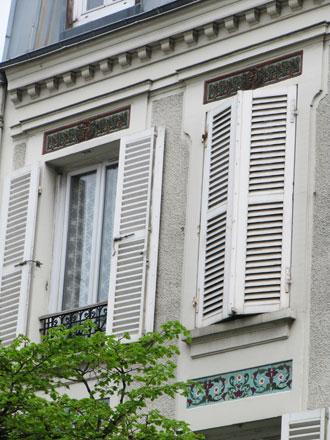 Frise de Brocard & Leclerc, manufacture de St Maurice