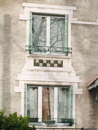 Frise, en allège, Charles Fourmaintraux à Desvres