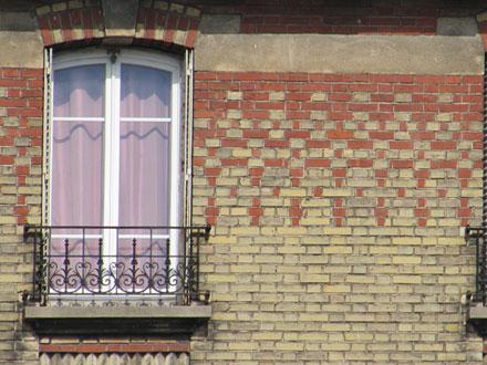 55 rue Hoche, motif illimité de deux couleurs
