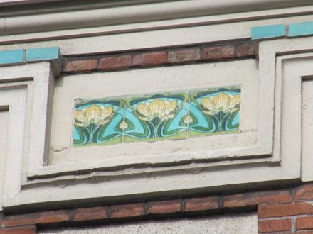17 rue Montgolfier, carreaux de Gilardoni fils & Cie