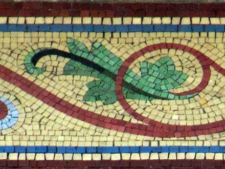 20 rue Jacquart, mosaïque murale