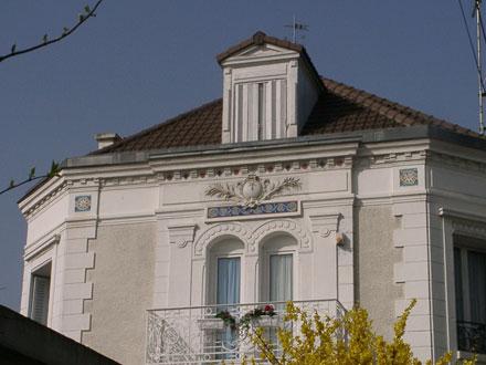 Frise, Hte Boulenger & Cie, et panneau d'applique