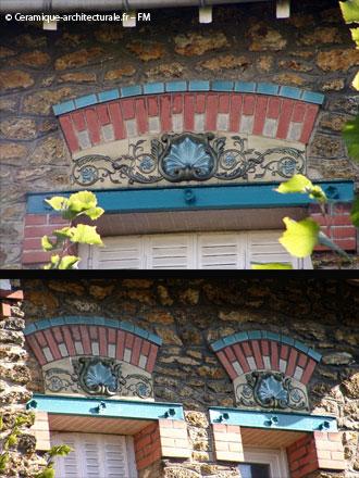 Panneaux de tailles adaptées aux ouvertures, E. Muller et Cie