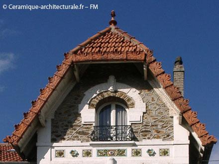 Multiples décors de la Tuilerie de Choisy-le-Roi Gilardoni fils & Cie