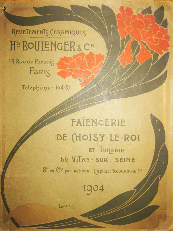 Catalogue H. Boulenger