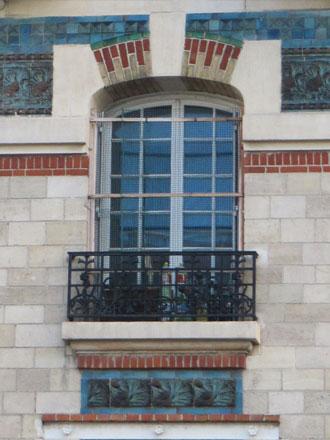 Filles, Garçons, 19124, 125 rue V. Hugo à St-Ouen (93), céramiques E. Muller & Cie