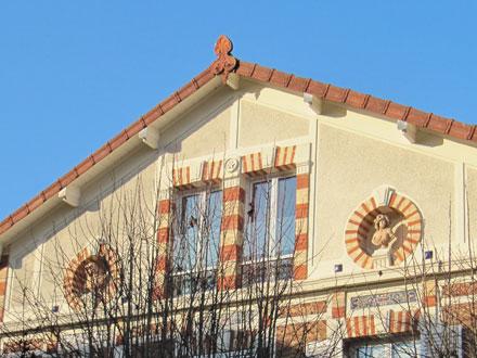 Bustes, Hiver et Printemps, à Courbevoie (92)