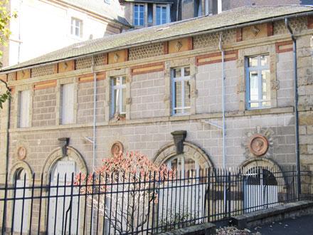 Médaillons Eté, Faune et Printemps, de Loebnitz, à La Bourboule (63)