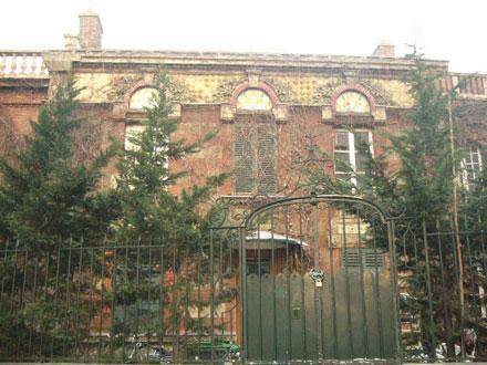 Décors de Janin & Guérineau, maison démolie (92)