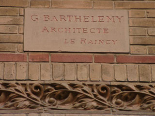 Indéterminé de Gentil & Bourdet au Raincy (93)