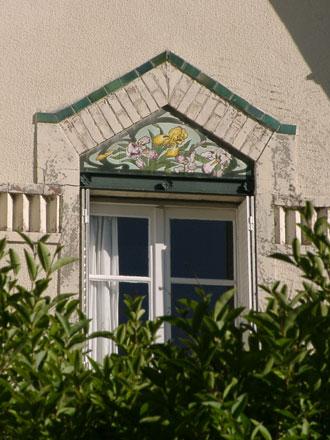 Panneau iris de style Dolis à Colombes (92)