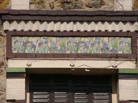 Frise de Gilardoni fils & Cie à Aulnay-sous-Bois (93)
