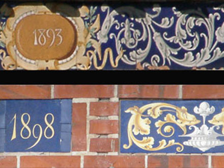 Terre cuite émaillée 1893/98 à Blois (41)