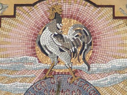 Dates et lieux de fabrication sur l'entreprise Simons & Cie, mosaïque au Cateau (59)