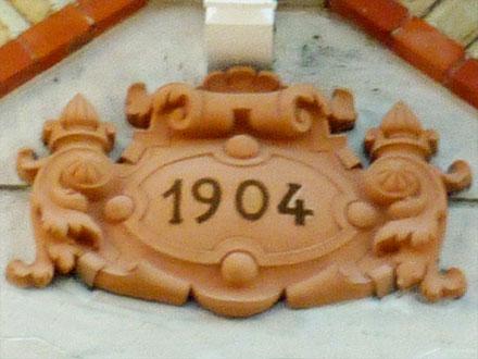 Applique 1904 de la Gde Tuilerie de Bourgogne (Montchanin), à Châlons-en-Champagne (51)