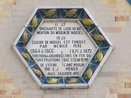 Historique du Moulin de Noisiel (77), céramique E. Muller
