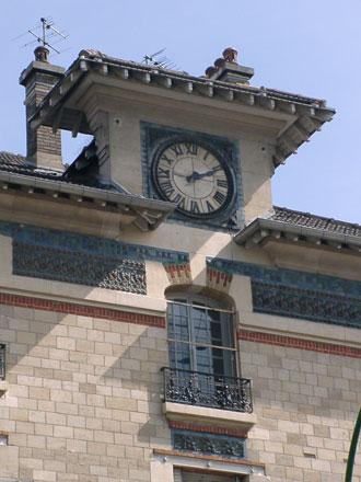 Ecoles Victor Hugo à St-Ouen (93) 1912