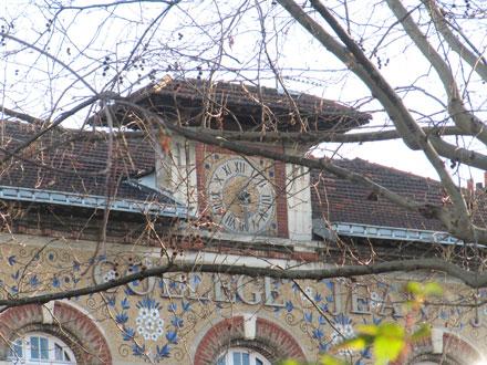 Collège Jean Jaurès, à St-Ouen (93) 1933/34, mosaïque Gentil & Bourdet