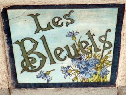 Les Bleuets au Tréport (76)