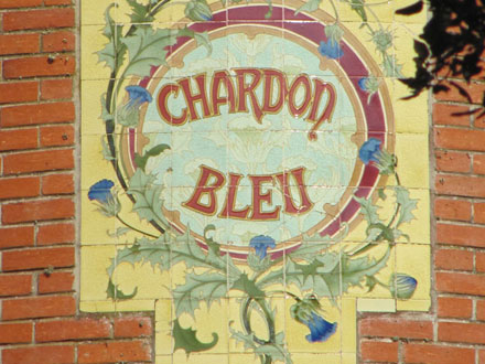 CHARDON BLEU à Soulac-sur-Mer (33) H.Boulenger & C° Choisy-le-Roi