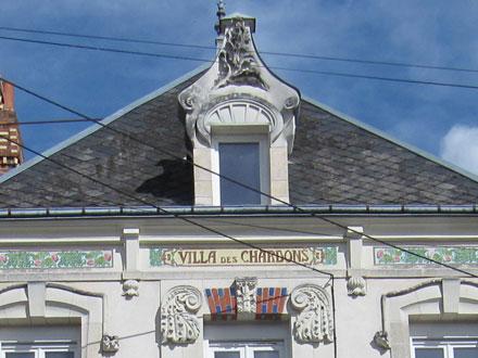 VILLA DES CHARDONS à Romorantin (41) H.Boulenger & C° Choisy-le-Roi