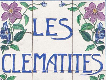 LES CLEMATITES à Desvres (62)