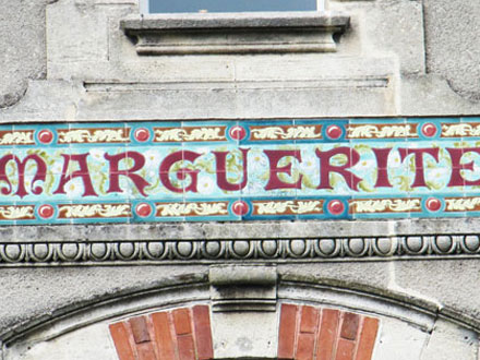 MARGUERITE à Bordeaux (33) H.B & C° Choisy-le-Roi