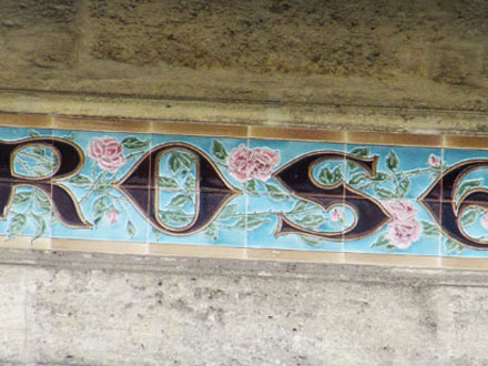 ROSE à Bordeaux (33) H.Boulenger & C° Choisy-le-Roi