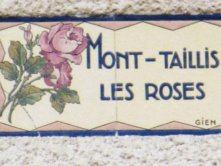 MONT-TAILLIS LES ROSES à Gien (45) Gien