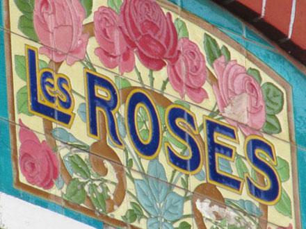 LES ROSES à Villemomble (93) (Faïenceries de Sarreguemines)